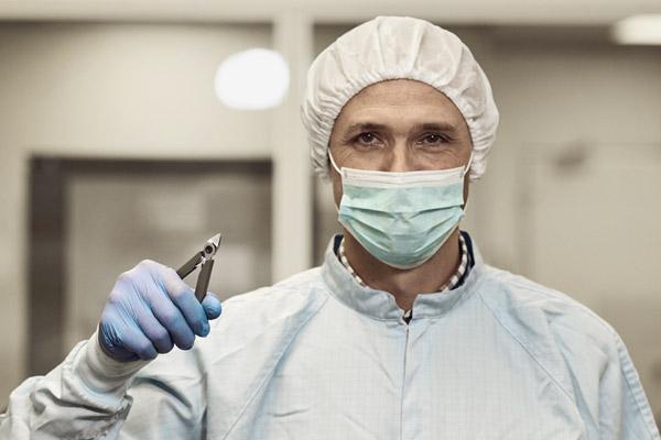 Tillverkningsindustri för medicinsk utrustning