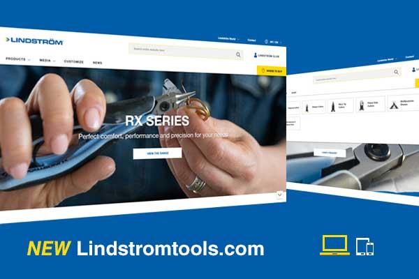 Lindströms nya webbplats är live!